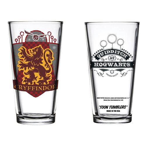 Harry Potter Quidditch Gryffindor Toon Tumbler