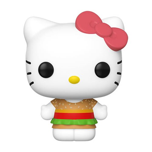 Hello Kitty Burger Shop Pop! Vinyl Figure