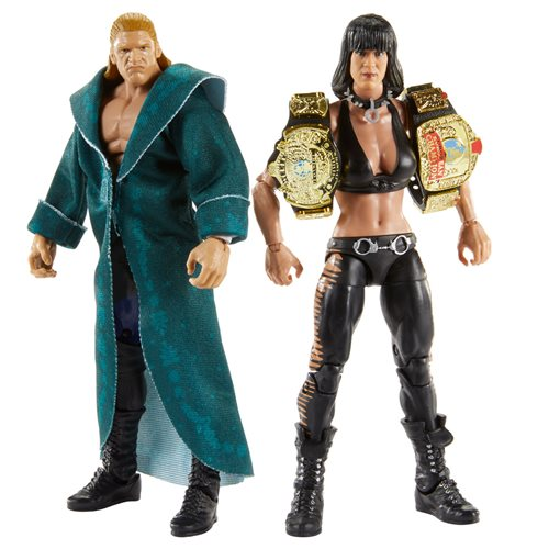 WWE Triple H and Chyna Elite Collection 2-Pack, Not Mint