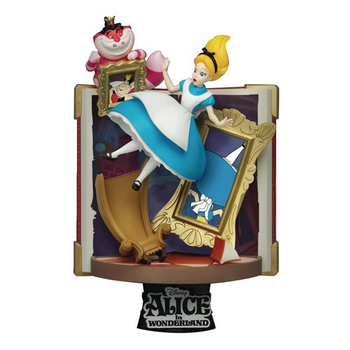 Alice in Wonderland Disney Story Book Series Alice D-Stage DS-077 6-Inch Statue