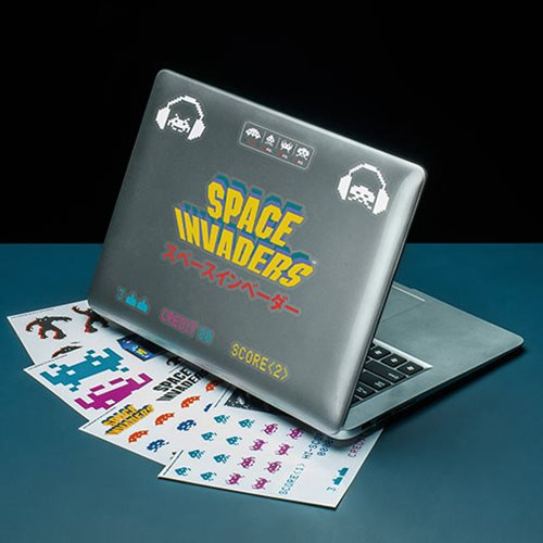 Space Invaders Gadget Decals Stickers