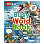 LEGO City Busy Word Book Hardcover Book