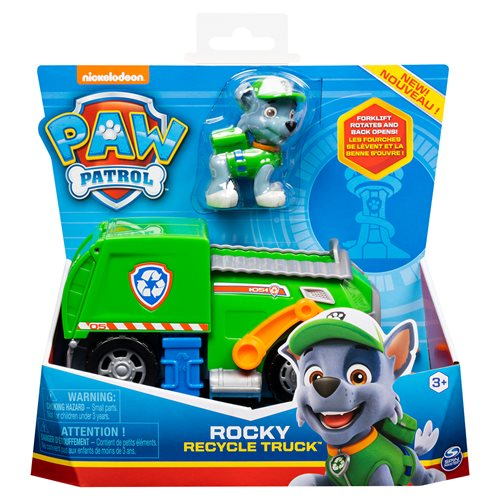 PAW Patrol Vehicle with Figure Case