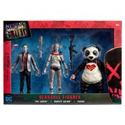 Suicide Squad Bendable Action Figure Boxed Set