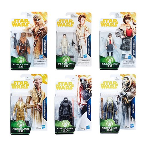 Star Wars Solo Force Link 3 3/4-Inch Action Figures Wave 2
