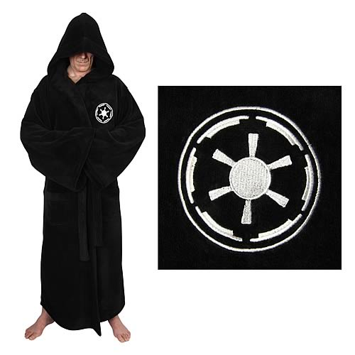 Star Wars Galactic Empire Sith Fleece Bathrobe