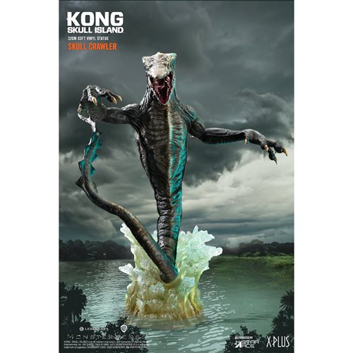 Kong Skull Island Crawler Soft Vinyl Figure with Base