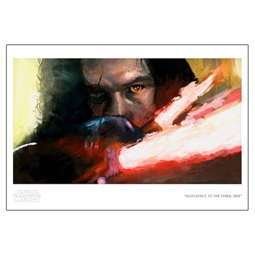 Star Wars Allegiance to the Dark Side by Bryan Snuffer Paper Giclee Art Print