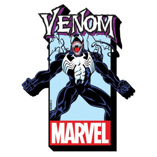 Venom with Logo Funky Chunky Magnet