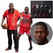 NBA Collection Michael Jordan Away Final Limited Edition 1:6 Scale Real Masterpiece Action Figure 2-Pack