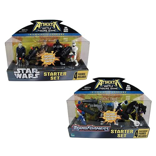Star Wars vs. Transformers Attacktix Starter Wave 2