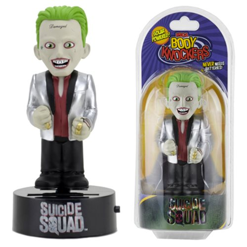 Suicide Squad Movie The Joker Body Knocker Bobble Head