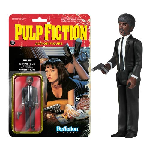 Pulp Fiction Jules Winnfield ReAction 3 3/4-Inch Retro Action Figure