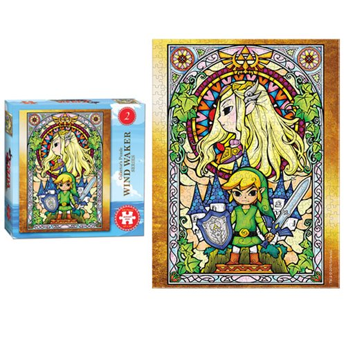 The Legend of Zelda Wind Waker #2 550-Piece Puzzle