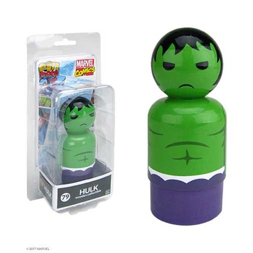 Hulk Pin Mate Wooden Figure