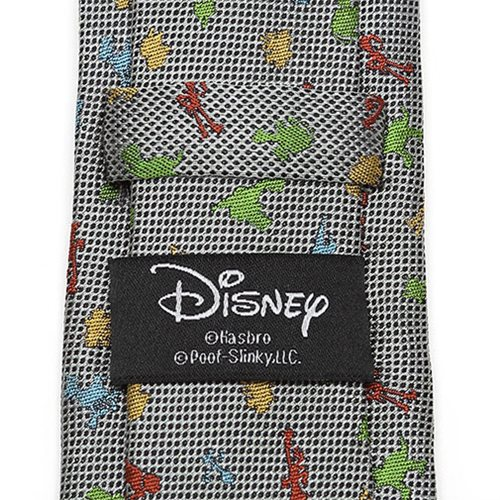 Toy Story 4 Characters White Big Boy's Tie
