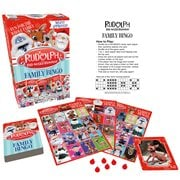 Rudolph the Red-Nosed Reindeer Family Bingo Game