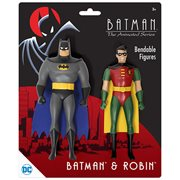 Batman Adventures Batman & Robin 5 1/2-Inch Bendable Figures