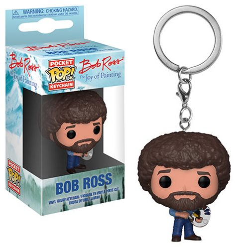 Bob Ross Pocket Pop! Key Chain