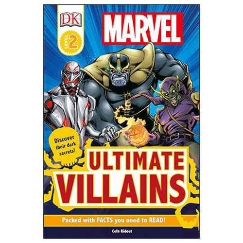Marvel's Ultimate Villains DK Readers 2 Hardcover Book