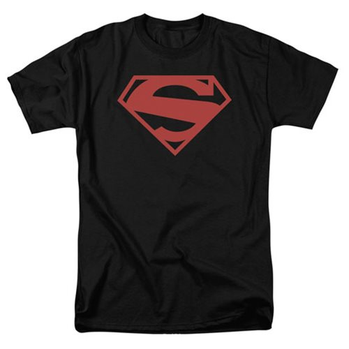 Superman New 52 Red Block Logo T-Shirt