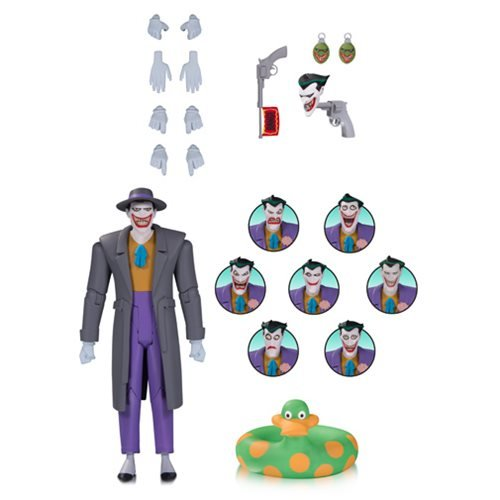 Batman: The Animated Series The Joker Action Figure with Expressions Pack