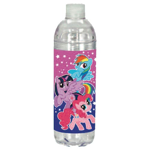 My Little Pony Always Together Cascade Flip Top Water Drinks Bottle