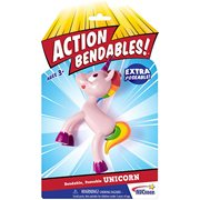 Action Bendables Unicorn 4-Inch Bendable Action Figure
