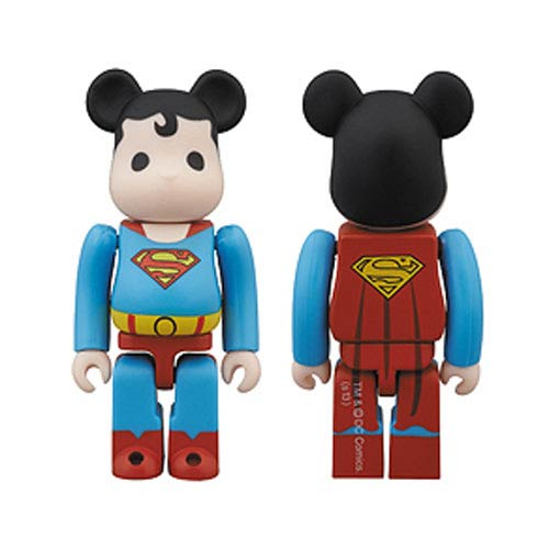 DC Super Powers Superman Bearbrick - San Diego Comic-Con 2013 Exclusive