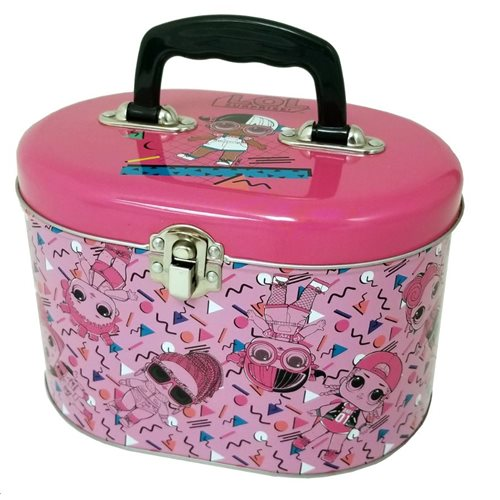 L.O.L. Surprise! Oval Carry All Tin Tote Box