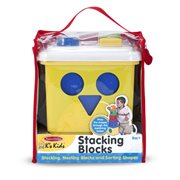 Melissa & Doug Stacking Blocks Set Learning Toy