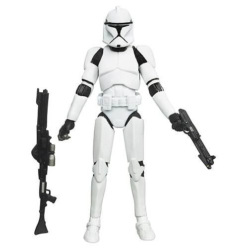 Star Wars Vintage AOTC Clone Trooper Action Figure
