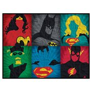 DC Grid Art Canvas Print
