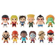 Street Fighter 3D Figural Key Chain Random 6-Pack
