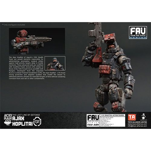 Acid Rain Ajax Hoplitai 1:18 Scale Action Figure