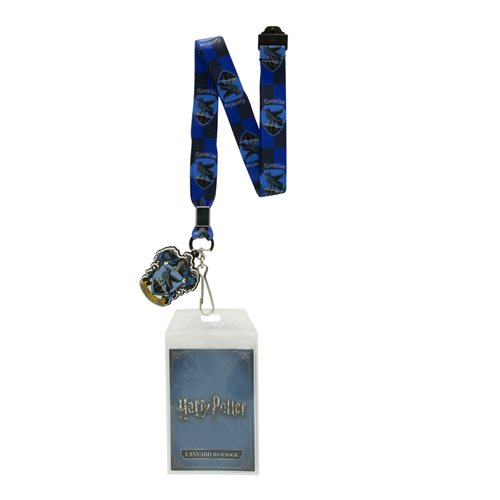 Harry Potter Ravenclaw Lanyard with Badge Holder and Charm