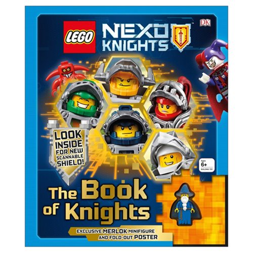 LEGO Nexo Knights The Book of Knights Hardcover Book