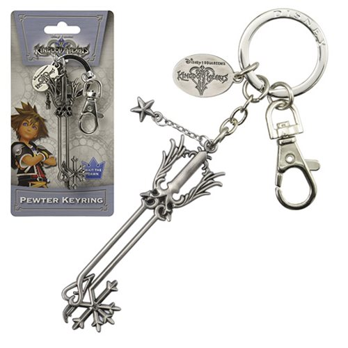 Kingdom Hearts Oathkeeper Pewter Key Chain