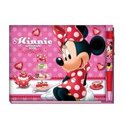 Minnie Mouse Deluxe Autograph Book with Pen