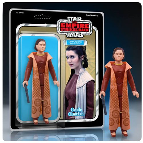 Star Wars The Empire Strikes Back Princess Leia Organa Bespin Gown Jumbo Vintage Kenner Action Figure