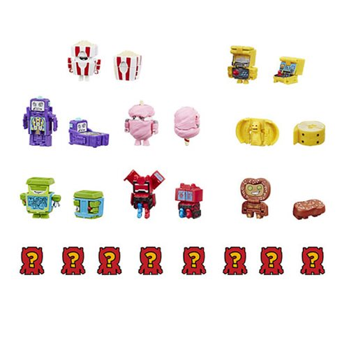 Transformers Toys BotBots Arcade Renegades Surprise 16-Pack