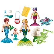Playmobil 70100 Magical Mermaids Family with Shell Stroller