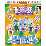Fingerlings Ultimate Sticker Collection Paperback Book