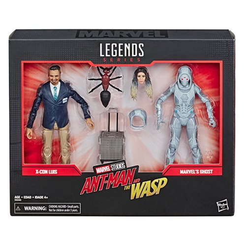 Marvel Legends 80th Anniversary Ghost and Luis 6-Inch Action Figures
