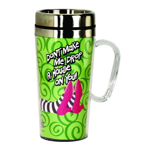 The Wizard of Oz Drop A House Insulated Travel Mug with Handle