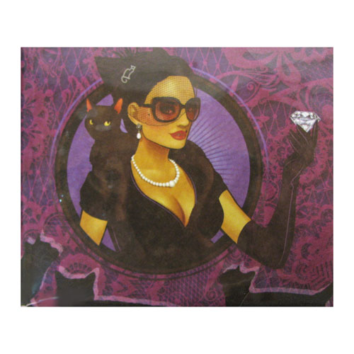 DC Comics Bombshells Catwoman Mighty Wallet - Previews Exclusive