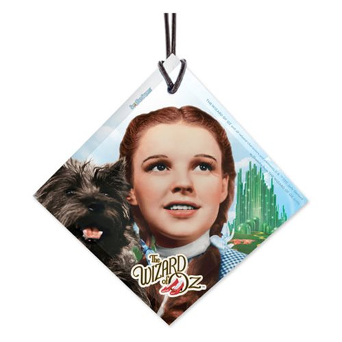 Wizard of Oz Dorothy and Toto StarFire Prints Hanging Glass Ornament