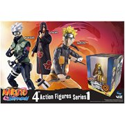 Naruto Shippuden 4-Inch Poseable Action Figure Series 1 Set