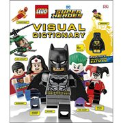 LEGO DC Super Heroes Visual Dictionary Hardcover Book