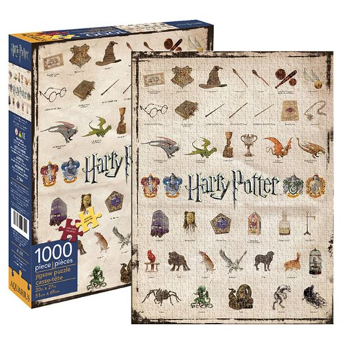 Harry Potter Icons 1,000-Piece Puzzle